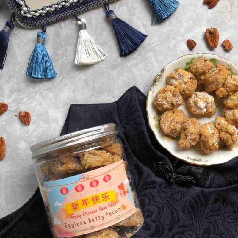 Sistersfield Eggless Nutty Pecans