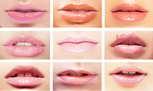 Many lip colours that can be achieved from Legend Age Lipstick