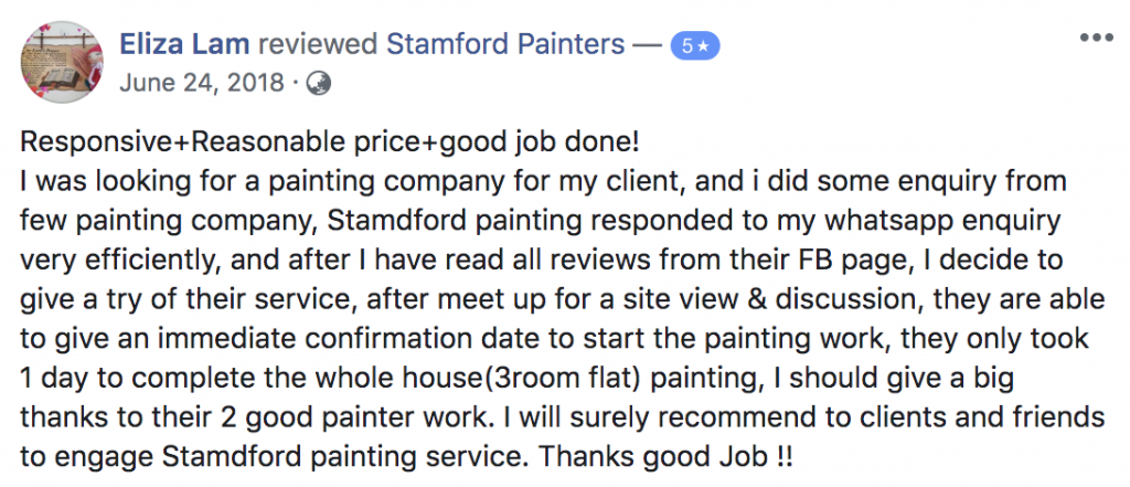 Facebook review of Stamford Paint (4)