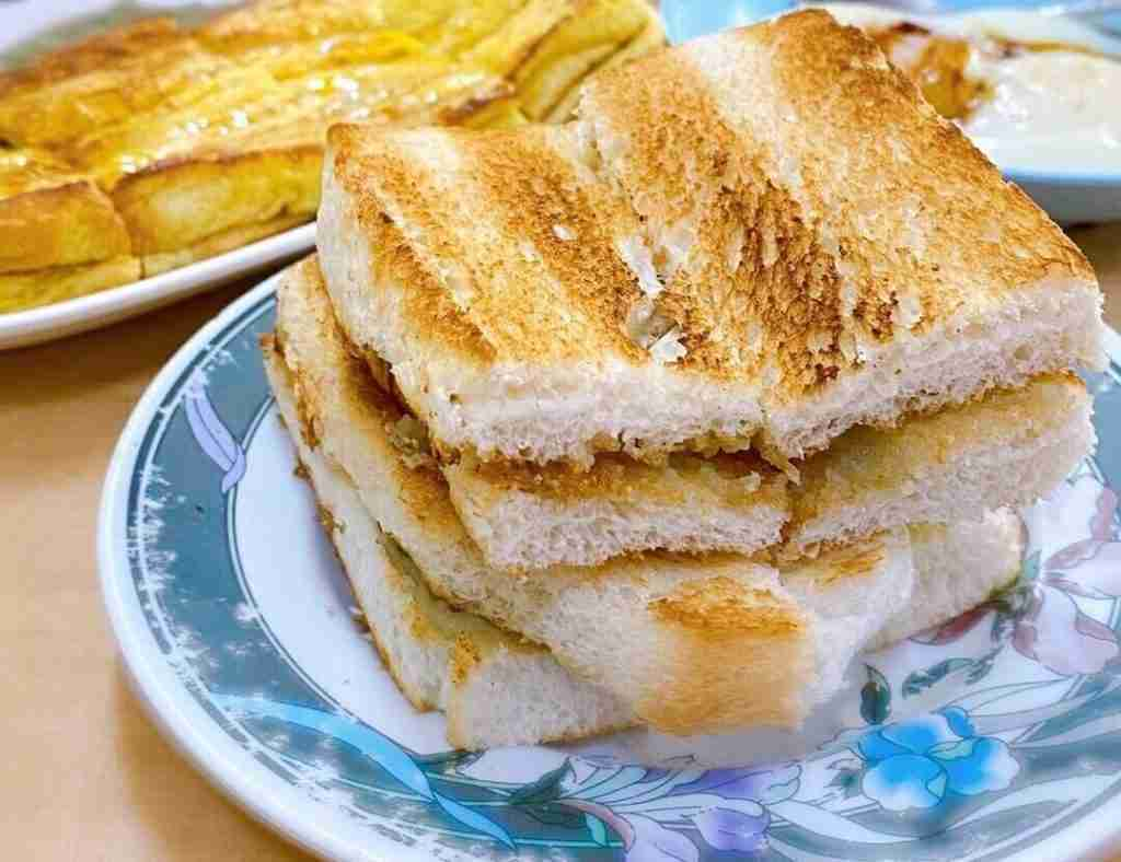 Kaya toast by Singapore Foodie