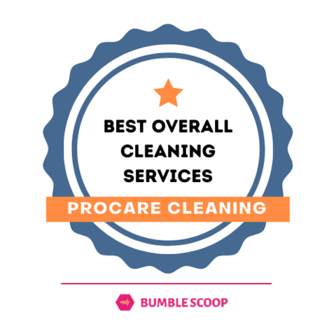 Badge for best overall cleaning service