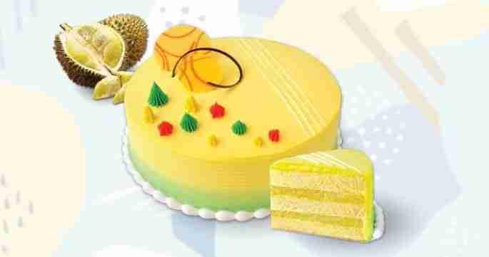 premium D24 durian sponge cake
