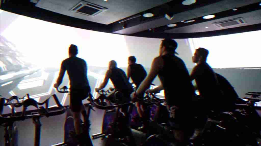 Pure Fitness VR spin class